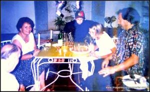 Cristian, Vanja y Edwin en Chile