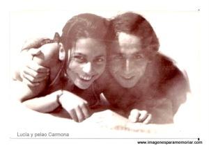Pelao Carmona y Lucía Sepulveda